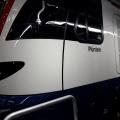 Anschrift auf Zug